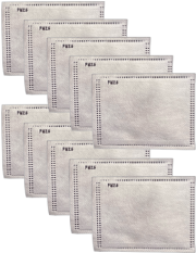 Disposable PM 2.5 Activated Carbon Fiber (ACF) Filters (10 pack)