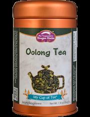 Oolong Tea - Stackable Tin Can