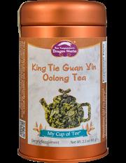 King Tie Guan Yin (Oolong) - Stackable Tin Can