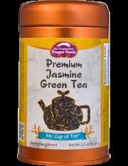 Premium Jasmine Green Tea - Stackable Tin Can