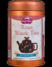 Rose Black Tea - Stackable Tin Can