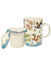 White Dragon Tea Mug