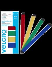 Velcro Mask Extenders- Multi-colored, 4pk