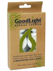 Goodlight Natural Candles 6-pack