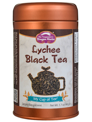 Lychee Black Tea - Stackable Tin Can