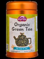 Organic Green Tea - Stackable Tin Can