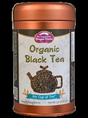 Organic Black Tea - Stackable Tin Can