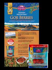 Heaven Mountain Goji Berries Sample with Brochure