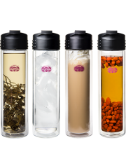 Insulated Glass Travel Bottle - Buy 1 Get 1 Free