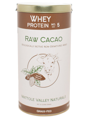 Raw Cacao Whey Protein 454 grams