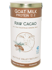 Raw Cacao Goat Milk Protein 540 grams