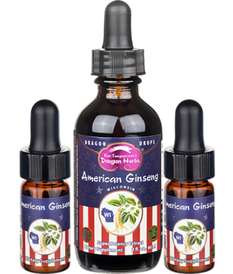 American Ginseng Drops with 2 FREE Minis