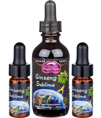 Ginseng Sublime Drops with 2 FREE Minis