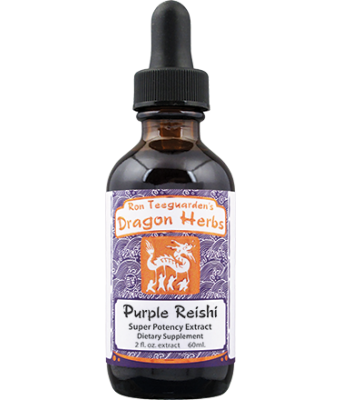 Organic Purple Reishi Drops