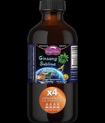 Ginseng Sublime Drops -- 8 fl. oz.