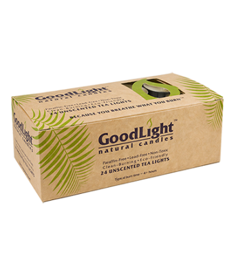 Goodlight Natural Candles 24-pack