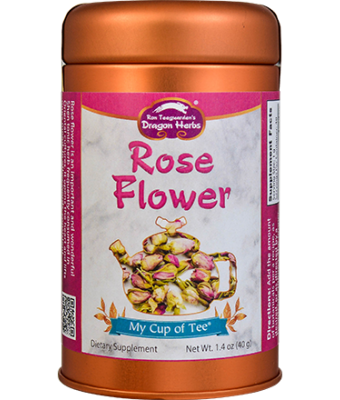 Rose Flower - Stackable Tin Can