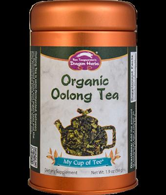 Organic Oolong Tea - Stackable Tin Can