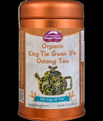 Organic King Tie Guan Yin (Oolong) - Stackable Tin Can