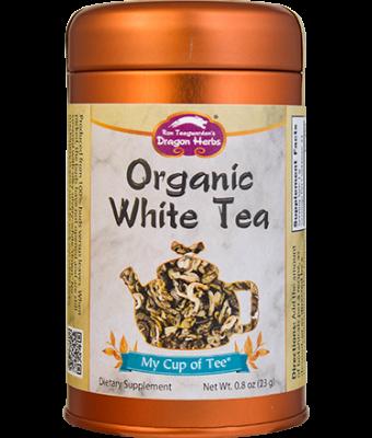 Organic White Tea - Stackable Tin Can