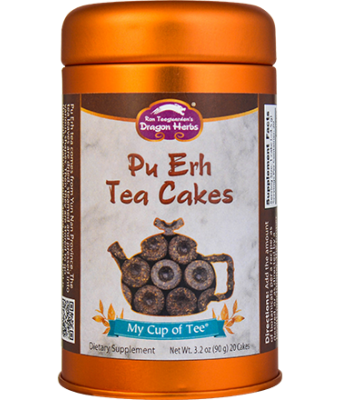 Pu Erh Tea Cakes - Stackable Tin Can
