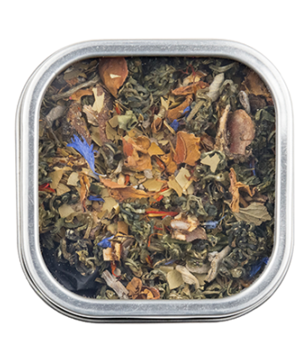 Goji Leaf Bliss Tea - small tin