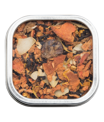 Red Shuan Reishi Bliss Tea - small tin