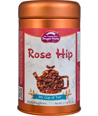 Rose Hip - Stackable Tin Can