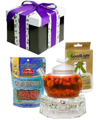 Goji Tea Kit with Small pot