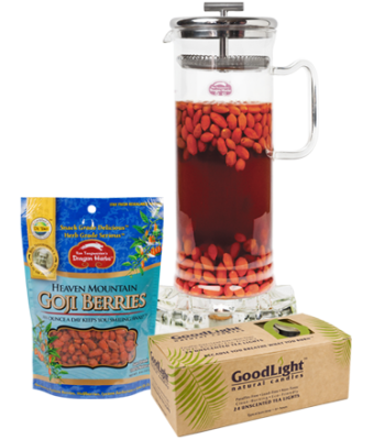 Goji Tea Kit with Large Pot