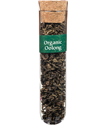 Tea Tubes: Organic Oolong Tea