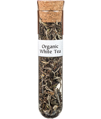 Tea Tubes: Organic White Tea