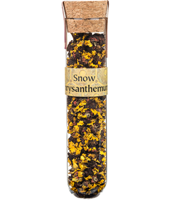 Tea Tubes: Snow Chrysanthemum