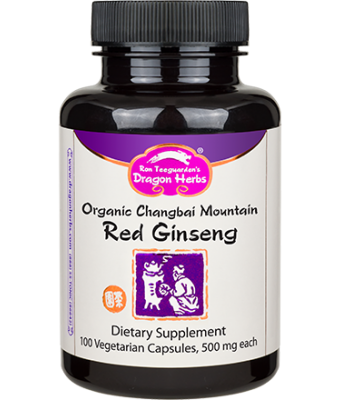 Organic Changbai Mountain Red Ginseng Extract