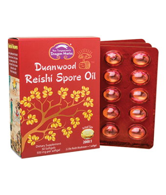 Reishi Spore Oil - 30 softgels