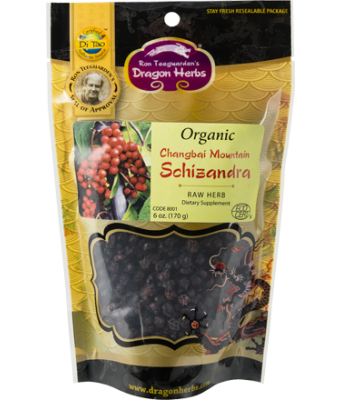 Organic Changbai Mountain Schizandra Fruit 6 oz.
