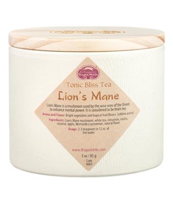 Lion's Mane Tonic Bliss Tea