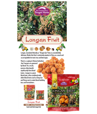 Longan fruit sample with Brochure