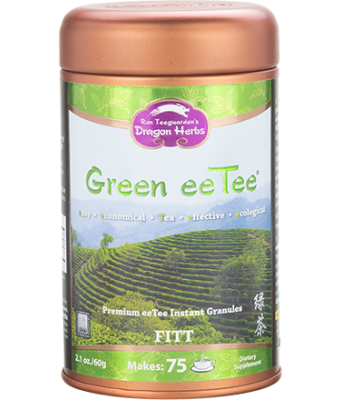 Green eeTee in Jar