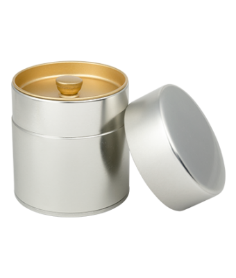 Silver Tea Tin 3.5 oz