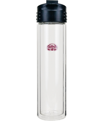 Insulated Glass Travel Bottle