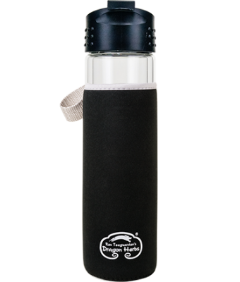 Insulated Glass Travel Bottle & Sleeve