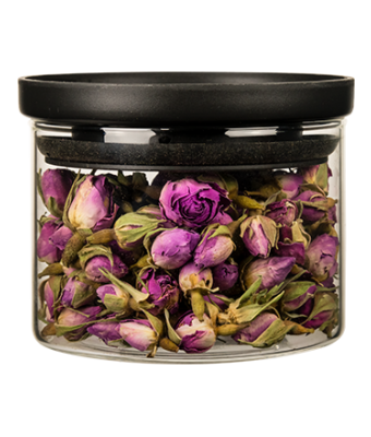 Stackable Glass Jar 10 oz. -- small