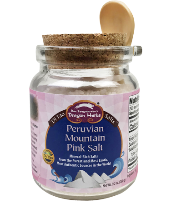 Peruvian Mountain Pink Salt