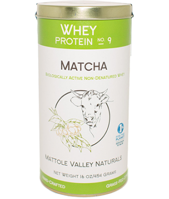Matcha Whey Protein 454 grams