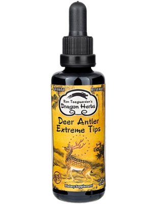 Deer Antler Extreme Tips Drops --- Private Reserve