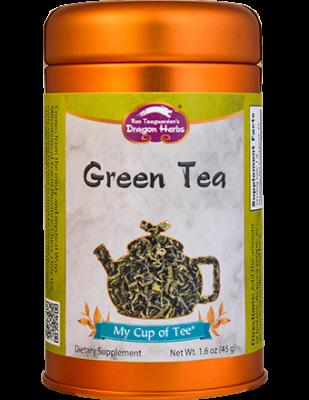 Green Tea - Stackable Tin Can
