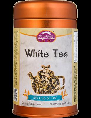 White Tea - Stackable Tin Can
