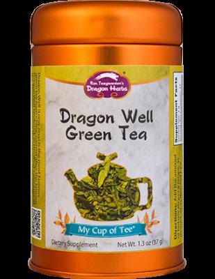Dragon Well Green Tea - Stackable Tin Can