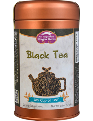 Black Tea - Stackable Tin Can